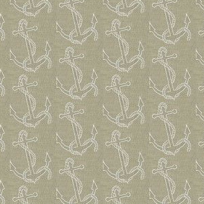 Anchors in Linen
