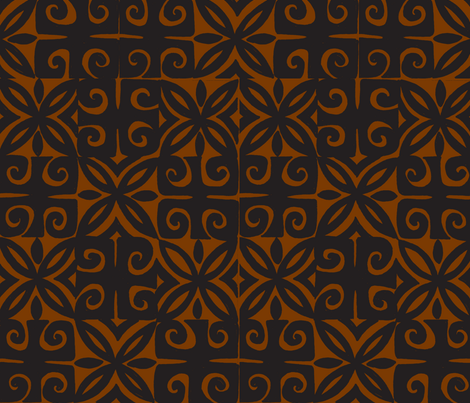 Sophista-tiki signature. kukui fabric by sophista-tiki on Spoonflower - custom fabric