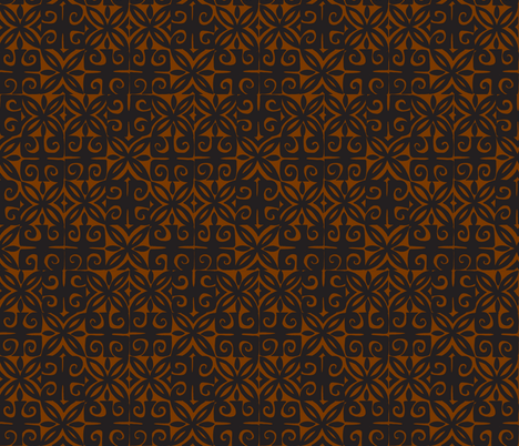 Sophista-tiki signature. kukui fabric by sophista-tiki_by_dawn_frasier on Spoonflower - custom fabric