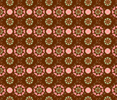 Carrot Buffet fabric by crookedtunes on Spoonflower - custom fabric