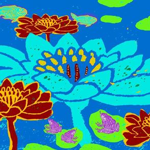 Lily Pond Blue