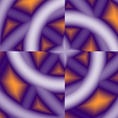 Background fabric purple_orange