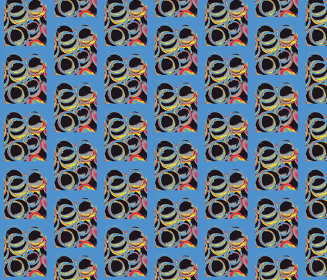 Scrambled Eggs with Black Truffles fabric by susaninparis on Spoonflower - custom fabric