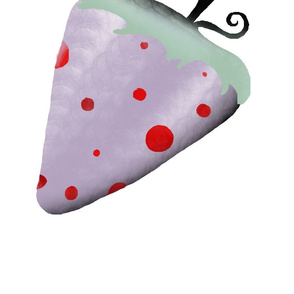 A 1 February 2011 -  Strawberry polka dots