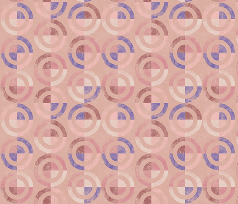Spliced Targets fabric by leighr on Spoonflower - custom fabric