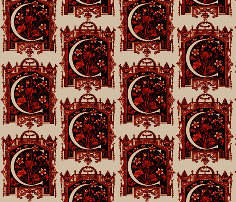 Chateau Crest fabric by paragonstudios on Spoonflower - custom fabric