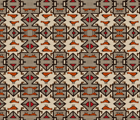 peruvian_birds fabric by ravynka on Spoonflower - custom fabric