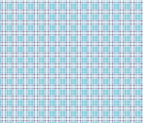 Blue Plaid fabric by nanetteregan on Spoonflower - custom fabric