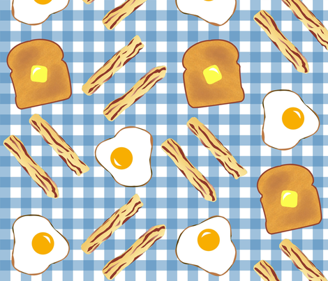 Big_Breakfast fabric by katherinek on Spoonflower - custom fabric