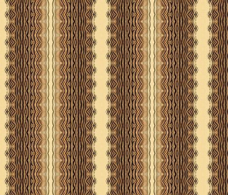tiger print fabric by ravynka on Spoonflower - custom fabric
