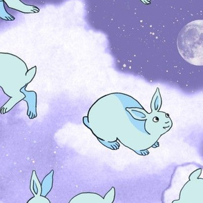 Silver Lining Cloud Rabbits