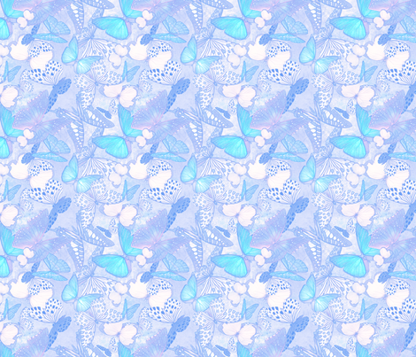 Butterfly Net: Background fabric by tallulahdahling on Spoonflower - custom fabric