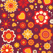 (Spoon)Flower Power! | retro