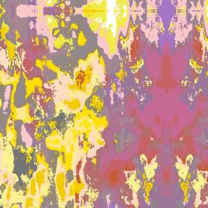Acrylic Ikat II