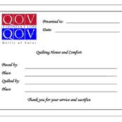 QOV 2011 Label