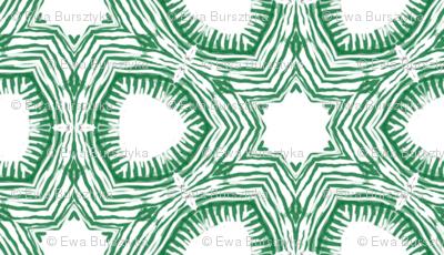 green doodle tile
