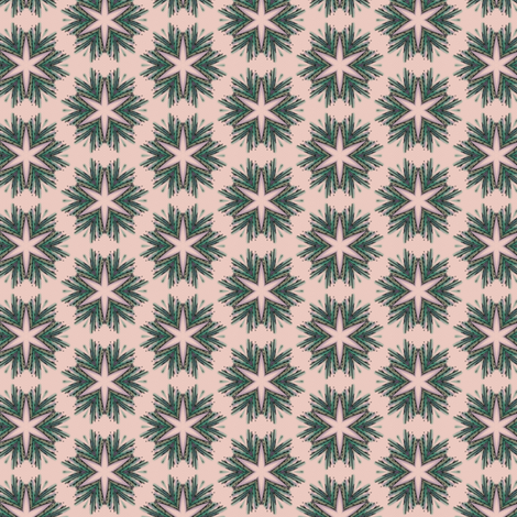 Starry wreath fabric by ravynka on Spoonflower - custom fabric
