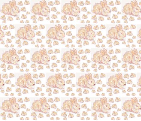 JamJax Funny Bunnies fabric by jamjax on Spoonflower - custom fabric