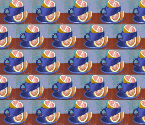breakfast fabric by elenamalec on Spoonflower - custom fabric