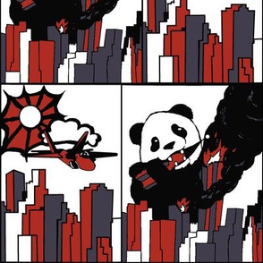 Panda vs. Jet Restricted Colors