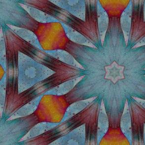 watercolor caleidoscope 2