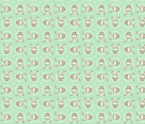 Hase10 fabric by anja_rieger on Spoonflower - custom fabric