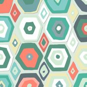 Hex_diamond_coral_mint_st_sf_shop_thumb