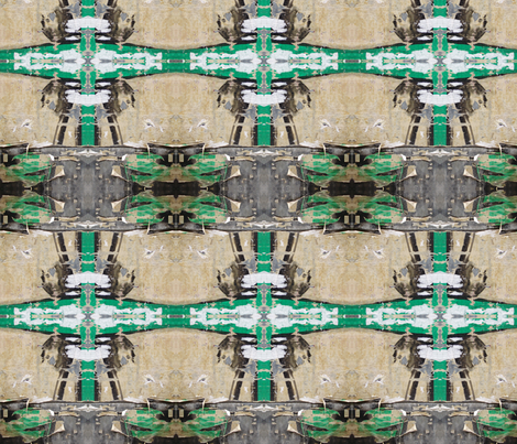 Good Green Graphics fabric by susaninparis on Spoonflower - custom fabric