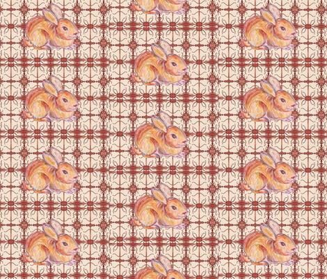 JamJax Easter Bunny fabric by jamjax on Spoonflower - custom fabric