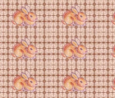 JamJam Bunny Buddy fabric by jamjax on Spoonflower - custom fabric