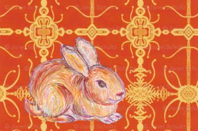JamJax Orange Bunny