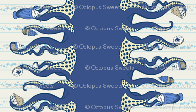 Navy Octopus Sweets