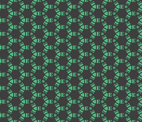 Tiling E monogram fabric by ravynka on Spoonflower - custom fabric