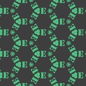 Tiling E monogram