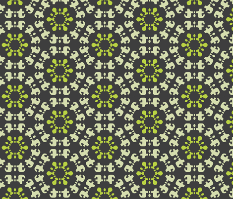T-caleidoscope fabric by ravynka on Spoonflower - custom fabric