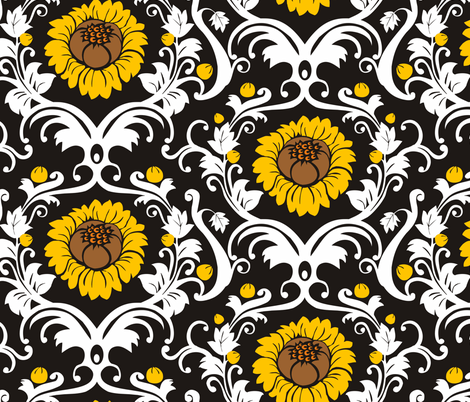 rokoko fabric by renule on Spoonflower - custom fabric