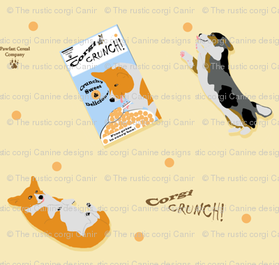 Dancing For Corgi Crunch Cereal