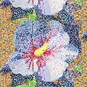Pointillist Hibiscus