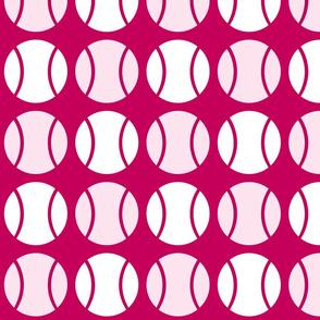 Pink Tennis Balls