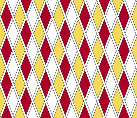 The Jester's Party, Motley fabric by taracrowleythewyrd on Spoonflower - custom fabric