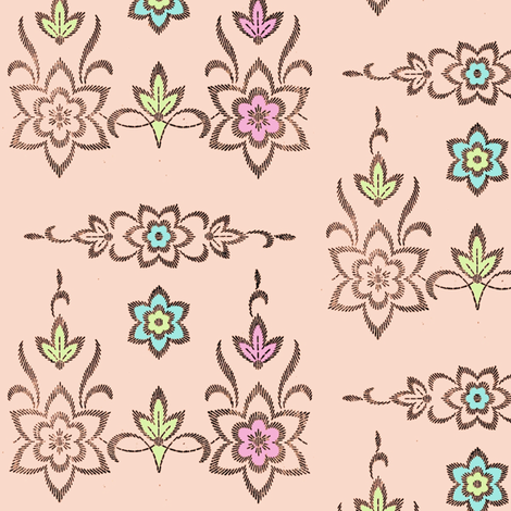 Daisy, Daisy fabric by nalo_hopkinson on Spoonflower - custom fabric