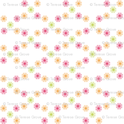 Starburst Constellation(Pink/Orange/Lime)