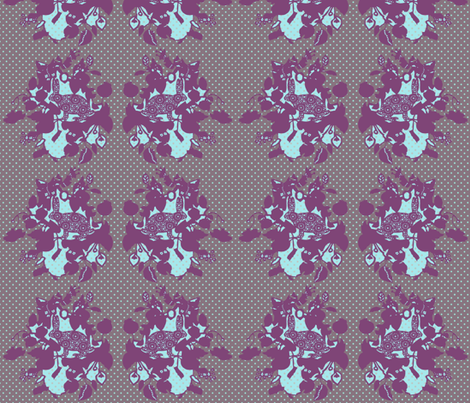 rabbit fabric by katarina on Spoonflower - custom fabric