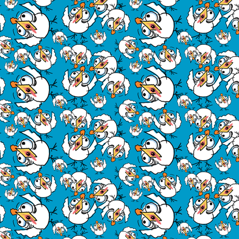 TheSkyIsFalling fabric by tallulahdahling on Spoonflower - custom fabric