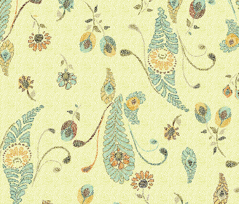 point fabric by missbeeks on Spoonflower - custom fabric