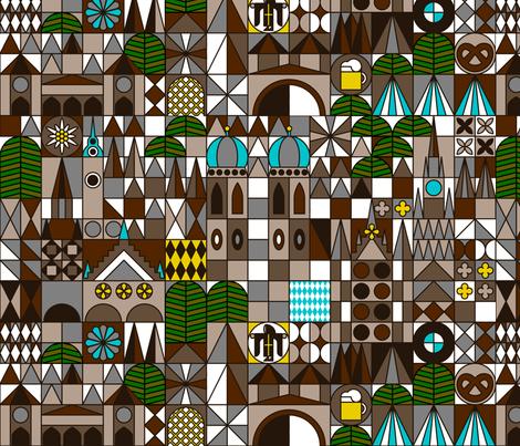 munich fabric by dennisthebadger on Spoonflower - custom fabric