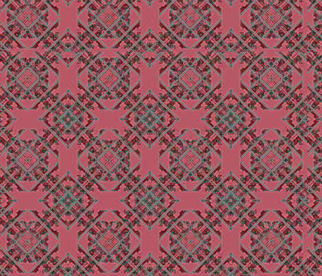 Square_ornaments_background35 fabric by cveta on Spoonflower - custom fabric