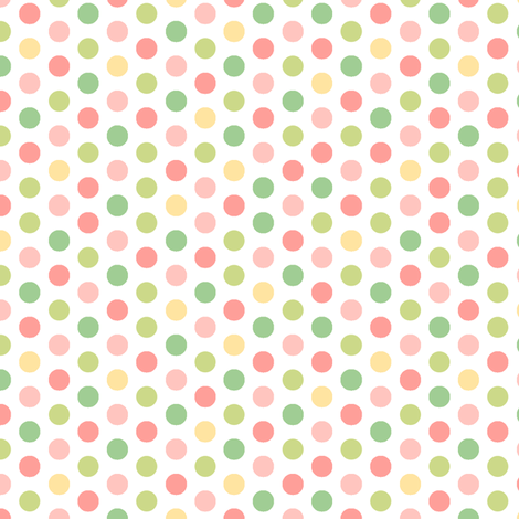 Pretty Polka Dots  fabric by pattysloniger on Spoonflower - custom fabric