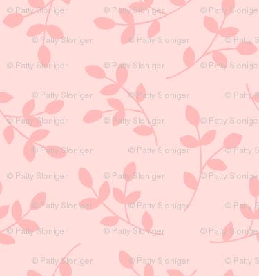 Pretty Pink Leaves
