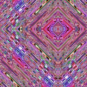 Jeweled Pastel Waves